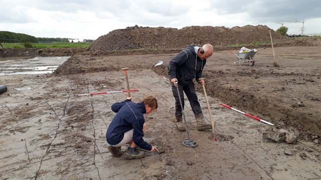 Newly uncovered Roman road unveiled in Utrecht, Netherlands