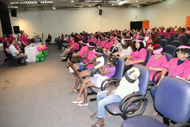 Atividades marcam o encerramento da Campanha Outubro Rosa
