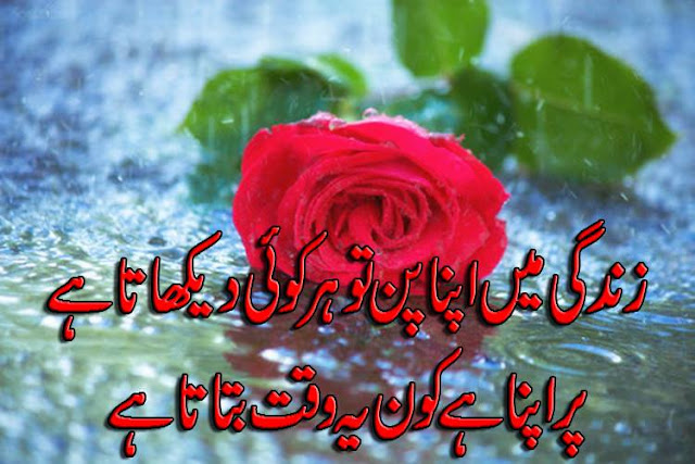 Urdu Poetry about Love