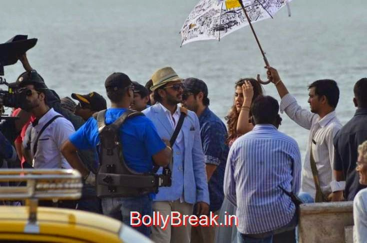 Riteish Deshmukh and  Rhea Chakraborty snapped on location in Mumbai, Sunny Leone, Neha Dhupia, Sonakshi Sinha Snapped At DIfferent Events