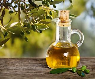 hilangkan kelemumur berkuping minyak zaitun