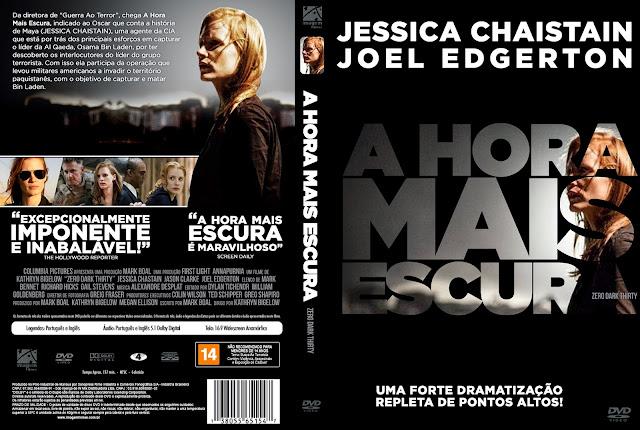 Capa DVD A Hora Mais Escura