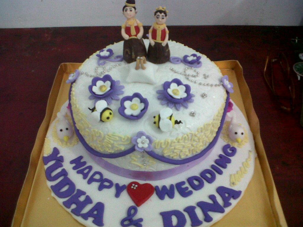 Cupcakes by Chocoholic: Wedding Cake Seserahan Pernikahan ...