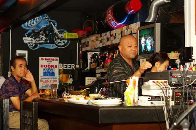 bar scene, Live House, Okinawa