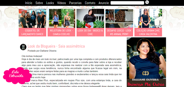 Lulu Entrevista: Dalliane Oliveira do blog Universo Ma Chérie