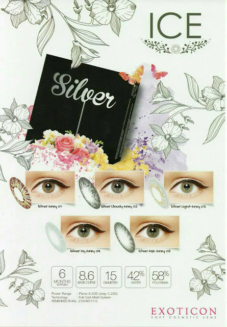 Softlens Ice Silver