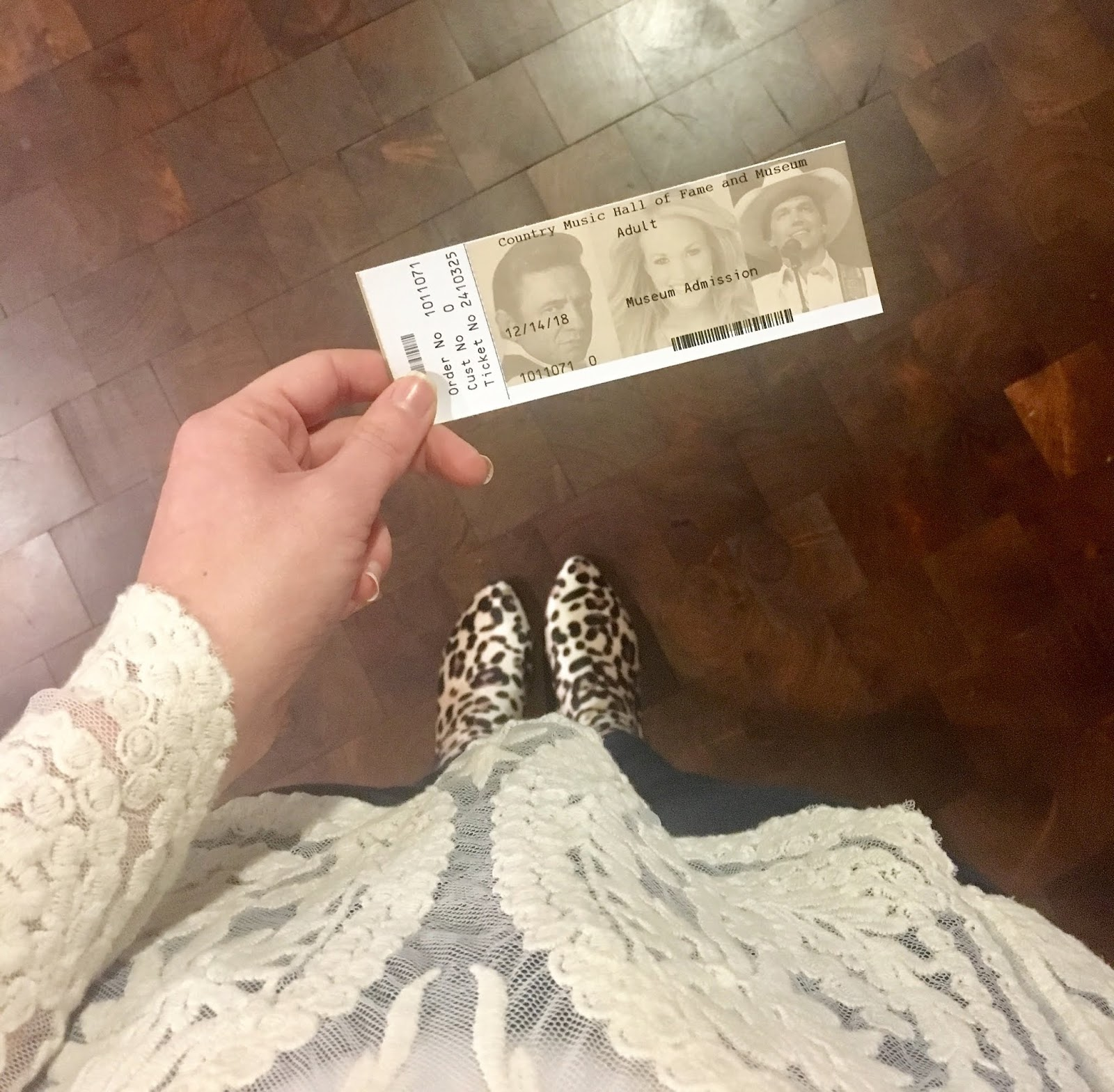 country music hall of fame museum in Nashville | how long to spend at country music hall of fame museum in Nashville | A Memory of Us | Leopard Print Booties