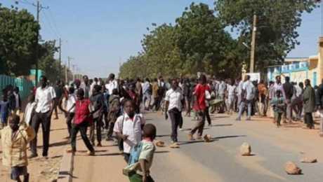 اندلاع التظاهرة الأكبر في السودان منذ بدء الاحتجاجات على الأسعار