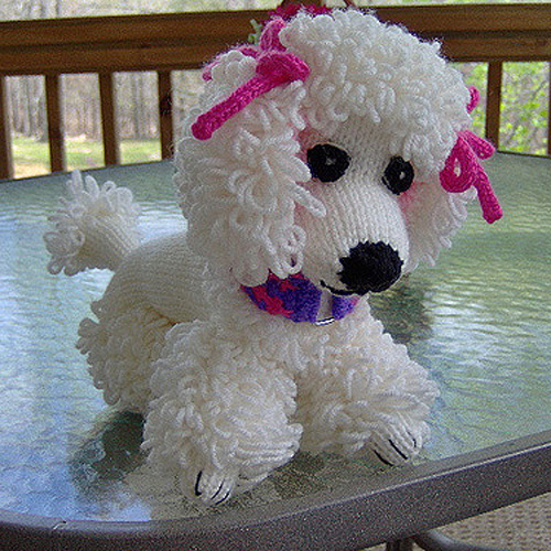 Poppet the Poodle - Free Pattern