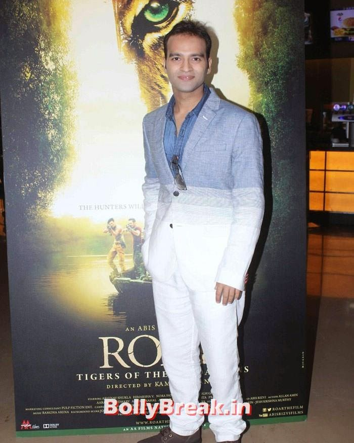 'Roar' First Look Launch, Celebs at 'Roar' Movie First Look Launch
