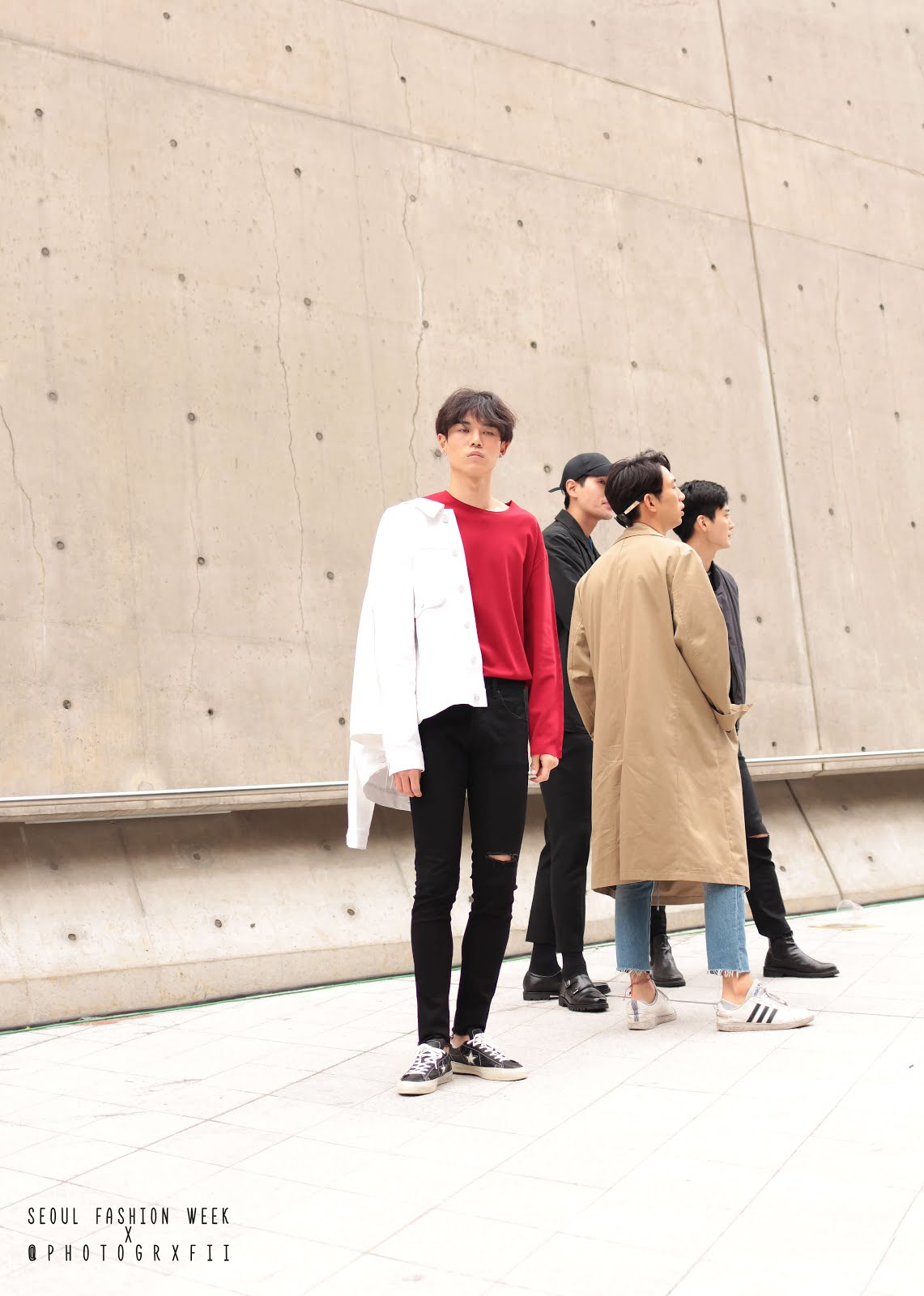 seoul fashion week ss18 well dressed boys men
