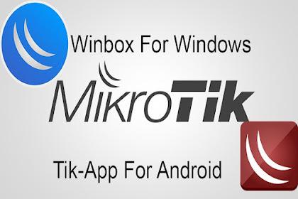 Tik App Alternatif Winbox Untuk Android