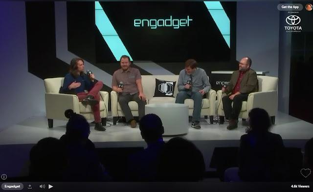 Engadget Car Talk Guys at CES 2017