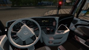 Branco Interior for Mercedes Actros 2014