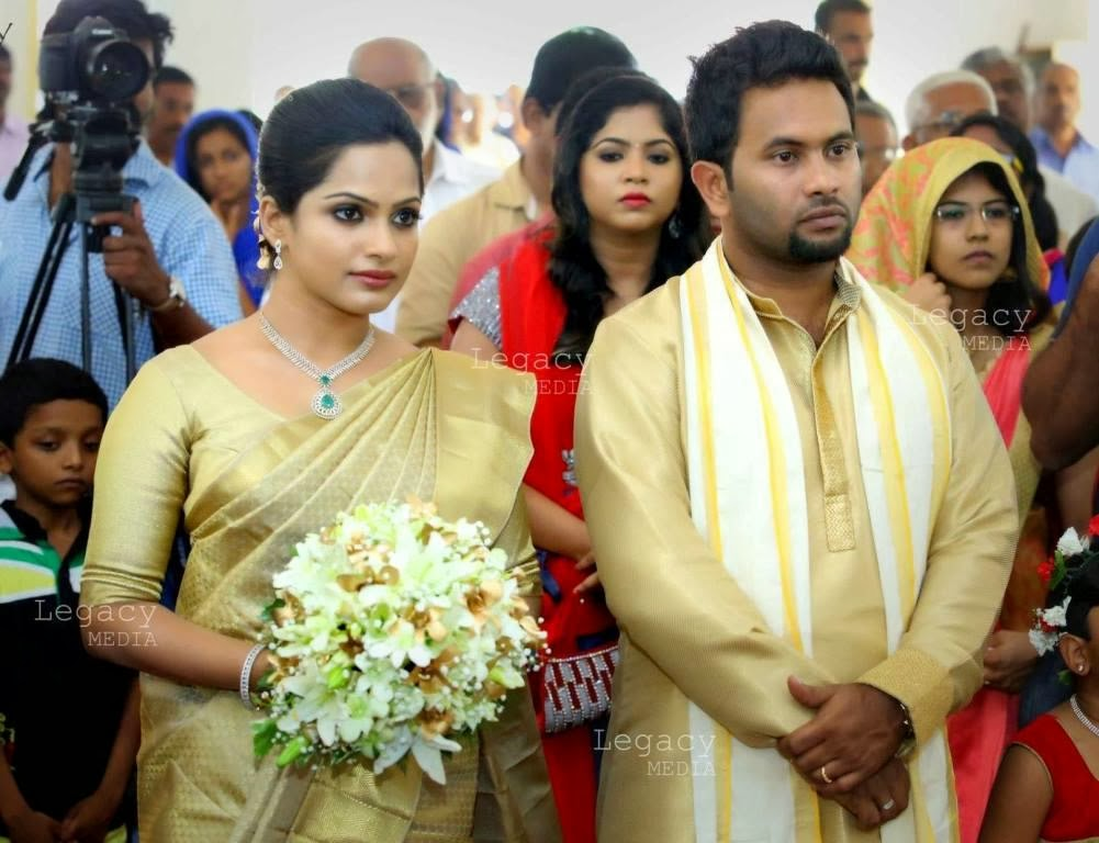 Aju Varghese Wedding