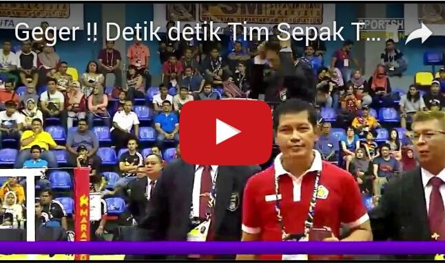 Ini Dia Video Detik-Detik Tim Takraw Putri Indonesia Walk Out dari Laga