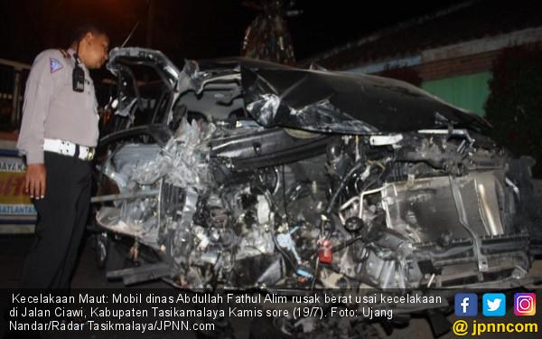 Kecelakaan Maut Ngeri, Pejabat Pemprov Jabar Tewas