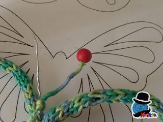 antenne modellate con filo di cotone