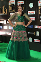 Nandita Swetha in a tight Green Choli Ghagra at IIFA Utsavam Awards March 2017 ~ 077.JPG