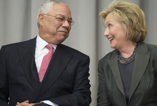 Colin Powell: Bill Clinton 'Still D—ing Bimbos'