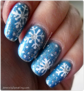 Christmas And Winter Nail Art Ideas And Inspiration A Sparkly