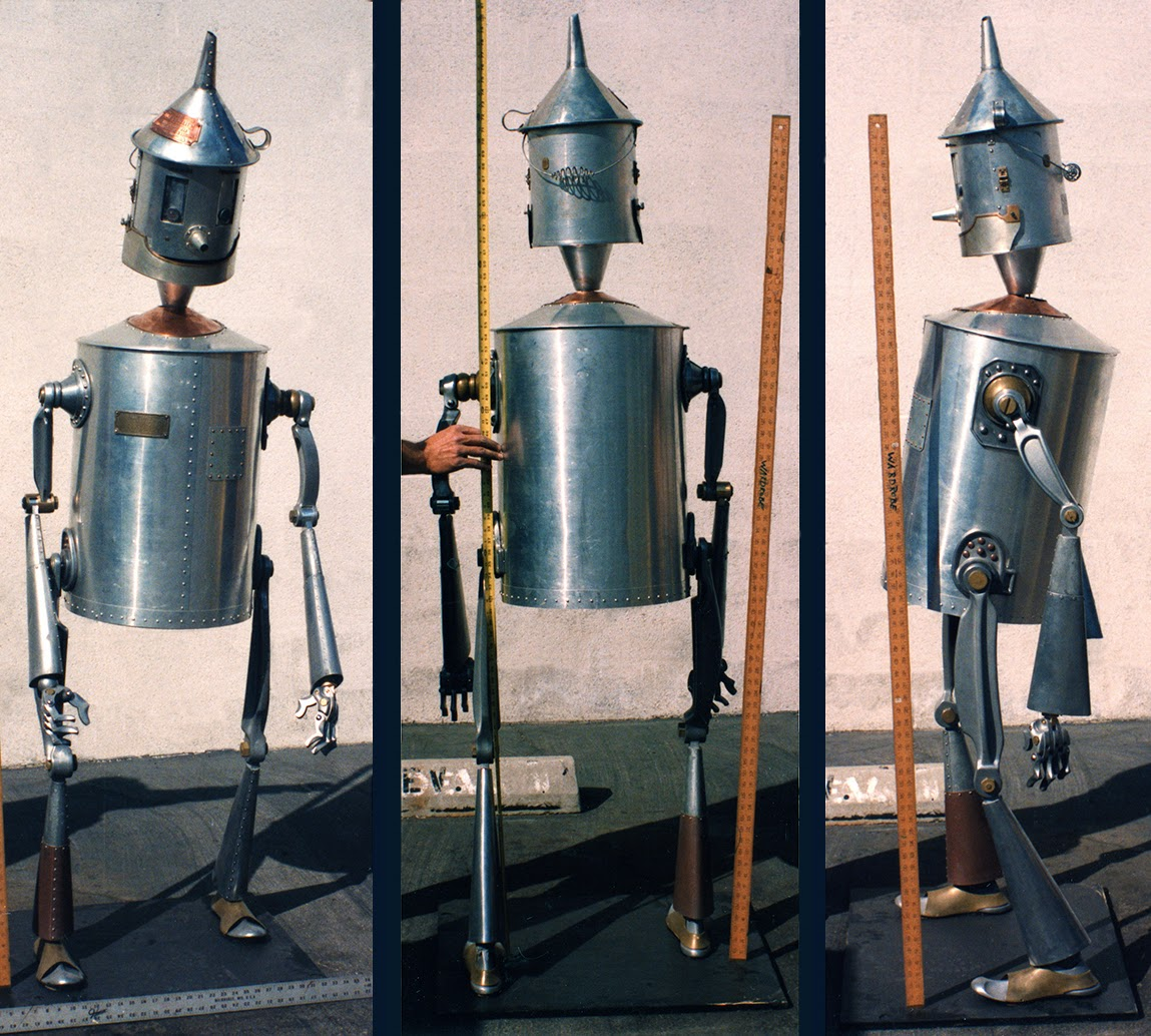 Kevin kidney return to oz the tin woodman for How to make a tin man out of cans