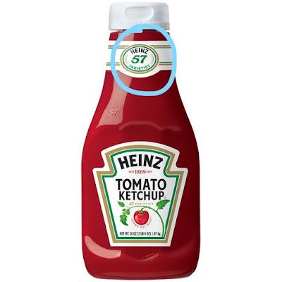 heinz tomato ketchup 57, tomato sause 57, bottle 57,