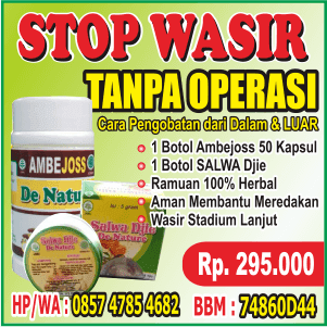 STOP Wasir Rahma Herbal