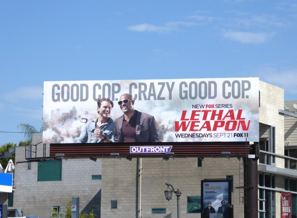 Lethal Weapon series premiere billboard
