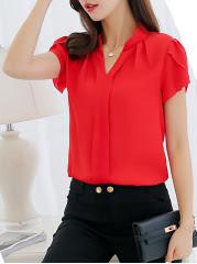 https://www.fashionmia.com/Products/summer-polyester-women-v-neck-plain-short-sleeve-blouses-212807.html
