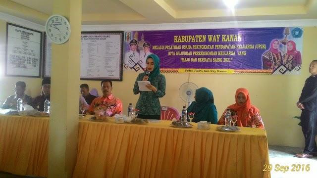 Dessy Adipati : Pentingnya Kaum Perempuan Buka Peluang Usaha