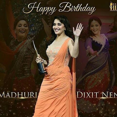 Happy Birthday Madhuri Dixit 51st Birthday 15 May 2018