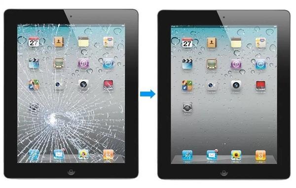 hoàn tất thay thế màn hình cho iPad 4