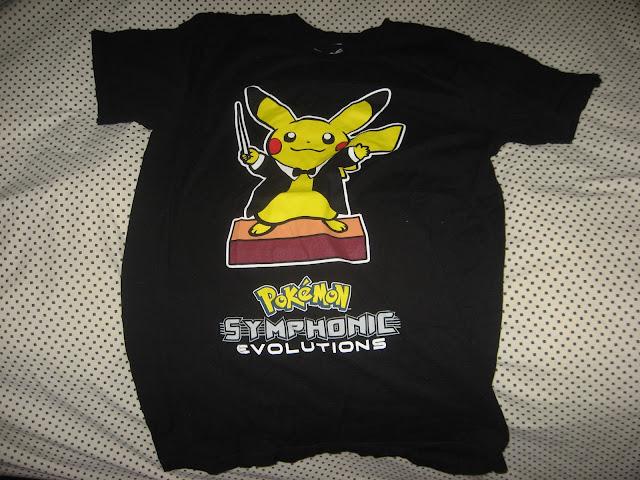 Pokémon Symphonic Evolutions shirt Pikachu conductor outfit
