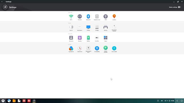 Ajustes Phoenix OS 2