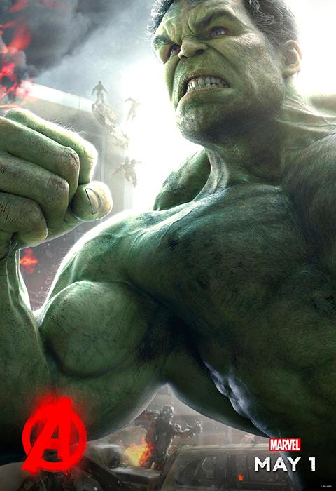 Poster Hulk în Avengers: Age Of Ultron