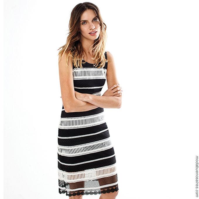 Vestidos verano 2018. Moda 2018 para mujer en Buenos Aires, Argentina. Lo mejor de la Moda 2018 Argentina.