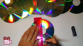 Tirai dari CD bekas