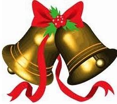 Dibujos de campanas de navidad a colores