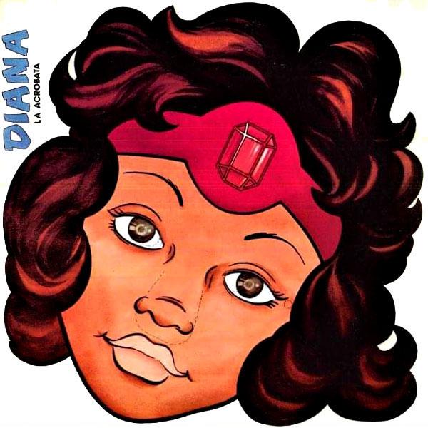 El libro de las máscaras Dragones y Mazmorras Diana la acróbata