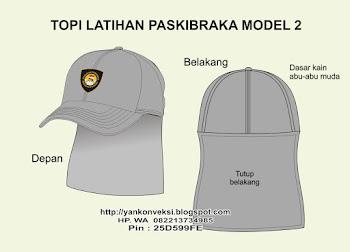 TOPI PASKIRAKA MODEL 2
