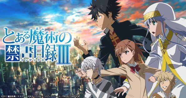 """الموسم الثالث جاء تكملة لأحداث الموسم الأول و الثاني من أنمي """"مشروع أندكس """"( Toaru Majutsu no Index )."""