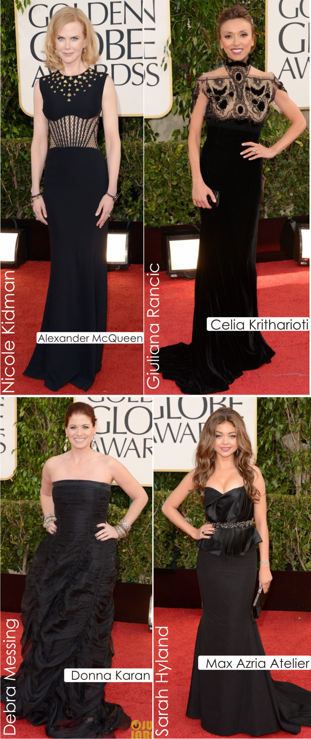 b207db0d79b Golden Globes 2013  Pretinho Básico! - Fashion Frisson