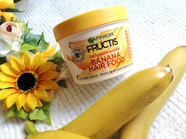 banana hair food garnier fructis
