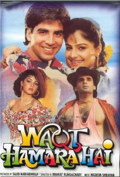 Poster Of Waqt Hamara Hai 1993 720p Hindi DVDRip Full Movie Download