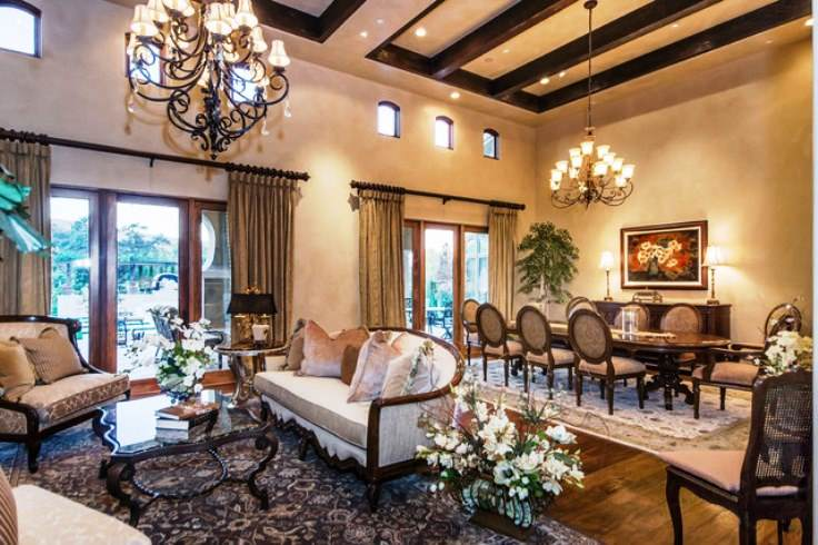 Tuscan Style Home Interior Design And Decorating Elements, Photos ~ Art Home  Design Ideas