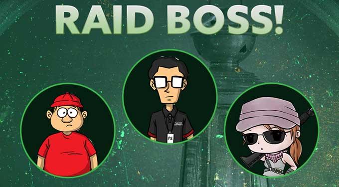 Event PB Garena New Raid Boss Siapkan Seranganmu