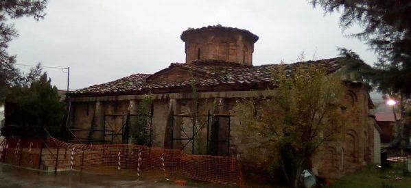 Στην αποκατάσταση μνημείων θρησκευτικής και πολιτιστικής κληρονομιάς προχωρά η Περιφέρεια Θεσσαλίας στην Π.Ε. Τρικάλων