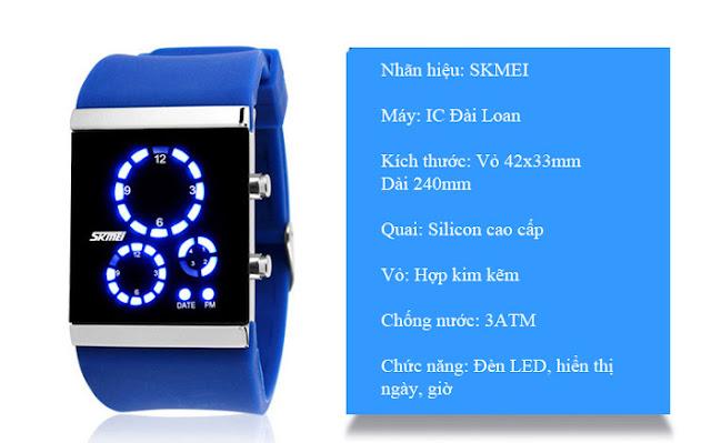 Đồng hồ Skmei 0984 3