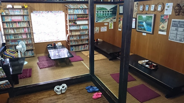 沖縄そば 夢二の店内の写真